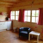 Vakantiehuisje op boerencamping in Drenthe