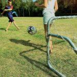 Kindvriendelijke minicamping in Drenthe - lekker voetballen